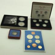 SILVER ONE POUND COINS & OTHERS