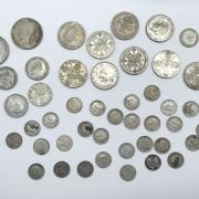 SMALL COLLECTION OF SILVER COINS