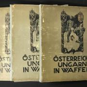 THREE LARGE PORTFOLIOS OF AUSTRIA - HUNGARY IN ARMS WARE ARCHIVE OSTERREICH-UNGARN IN WAFFEN