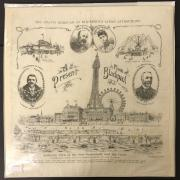 EARLY COMMEMORATIVE KERCHIEF KING EDWARD & QUEEN ALEXANDRA - A PRESENT FROM BLACKPOOL