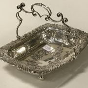 H/M SILVER FRUIT BASKET - JAMES DICKSON