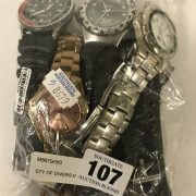 QTY OF DIVERS WATCHES