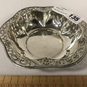 HM STERLING SILVER ENGRAVED BOWL