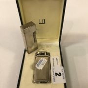 TWO DUNHILL LIGHTER - 1 IN CASE