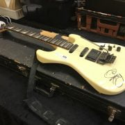 GUITAR IN CASE SIGNED PAUL YOUNG