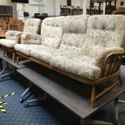 ERCOL TWO PIECE LOUNGE SUITE