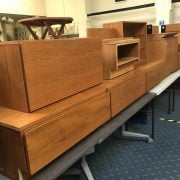 COLLECTION OF TAPLEY TEAK UNITS
