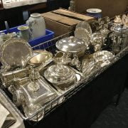 QTY OF SILVER PLATE