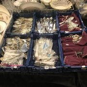 LARGE COLLECTION OF SILVER PLATED CUTLERY