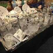 DECANTERS & OTHER GLASS