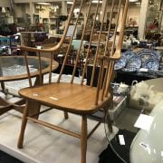 ERCOL STYLE ELBOW CHAIR