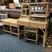 COLLECTION OF BAMBOO FURNITURE