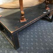 ANTIQUE STYLE GREY COFFEE TABLE