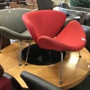 TWO DESIGNER CHAIRS