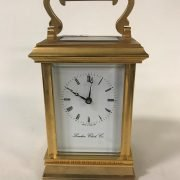 20THC CARRIAGE CLOCK