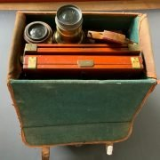 EARLY BELLOWS PLATE CAMERA