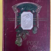 PICTURE POSTCARD ALBUM FULL OF EARLY POSTCARDS