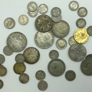 SMALL GROUP OF SILVER COINS