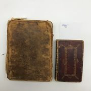 TWO BOOKS OF COMMON PRAYER 1760'S /1614