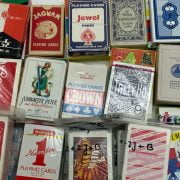 100+ VARIOUS MISC. PLAYING CARDS INCL.NO STANDARD -SOME SEALED