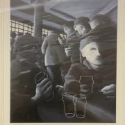 MACKENZIE THORPE - WHERES ALL THE BEER GONE? SIGNED LTD EDITION PRINT