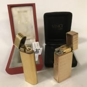 CARTIER CIGARETTE LIGHTER WITH A DE VINCI LIGHTER