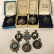 10 VARIOUS SILVER MEDALS