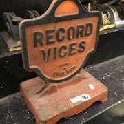 RECORD VICES - CAST IRON SHOP STAND