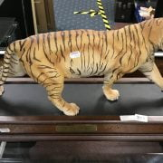 LARGE TIGER ON STAND