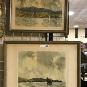 TWO SIGNED LTD EDITION PRINTS - BOTH WITH GALLERY STAMPS TO LEFT LOWER CORNER BY PAUL HENRY