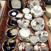 COLLECTION OF TEA SETS (3)