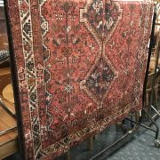FINE SOUTH WEST PERSIAN SHIRAZ RUG 235CM X 153CM