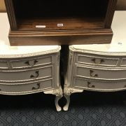PAIR OF CHESTS OF DRAWERS
