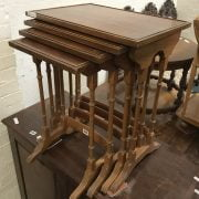 YEW NEST OF 4 TABLES