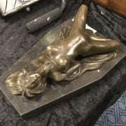 BRONZE LAYING NUDE