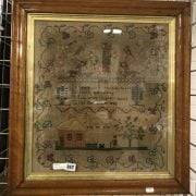 EARLY VICTORIAN SAMPLER