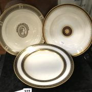 3 EARLY VIENNA PLATES