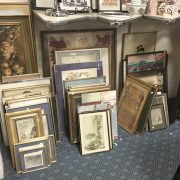 COLLECTION FRAMED PRINTS & PAINTINGS