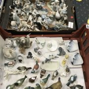 LARGE COLLECTION OF GERMAN & OTHER CONTINENTAL PORCELAIN FIGURES