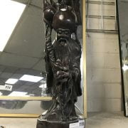 ROSEWOOD FIGURE OF MAN -47CM