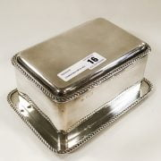 EDWARDIAN HM SILVER CASKET IN GREAT CONDITION