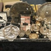 QTY OF SILVER PLATE ITEMS