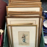 18 P.J REDOUTE BOTANICAL PRINTS WITH TWO OTHERS