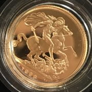 BRITISH FULL GOLD SOVEREIGN 1999 WITH AUTHENTICATION CERTIFICATE
