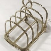 HM SILVER TOAST RACK