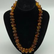 large graduated Baltic amber necklace