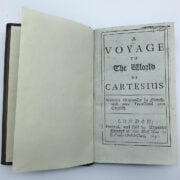 A VOYAGE OF THE WORLD OF CARTESIUS BOOK