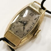 9CT GOLD OMEGA WATCH