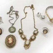 LADIES WATCH / EARRINGS/ OTHER CAMEO JEWELLERY