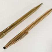 14CT GOLD PEN & ROLLED GOLD PEN